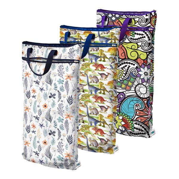 Planet Wise - wasserdichte Nasstasche mit Trockenfach zum Aufhängen Gr. XL - Wet&Dry Bag
