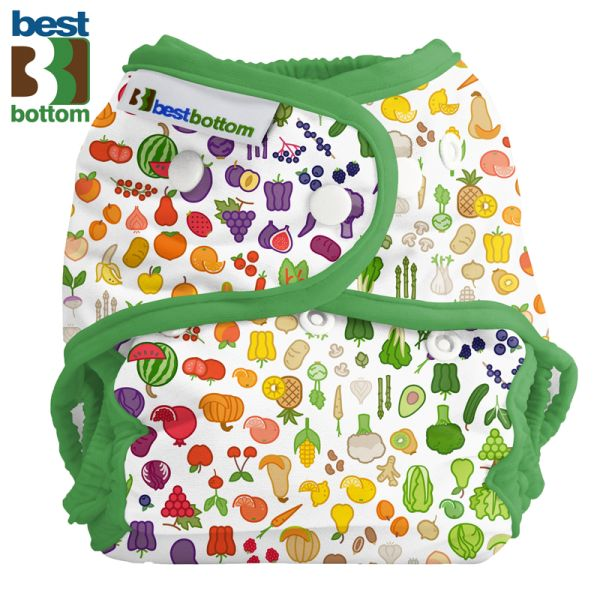 Best Bottom - Überhose (SIO) One Size (3-16 kg) - PUL - Farmers Market