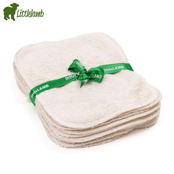 Little Lamb - Bambus Reinigungstücher (10 Stk.)