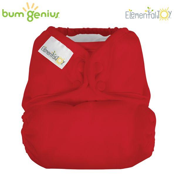 BumGenius Elemental JOY - Pepper (Rot) - Pocketwindel (ohne Einlagen)