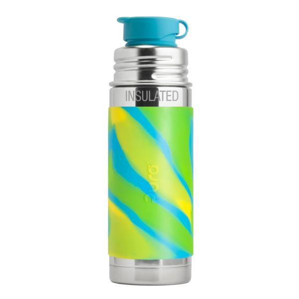 PuraSport™ ISO-Flasche 260ml - BigMouth™ Aufsatz (inkl. Silikonüberzug)