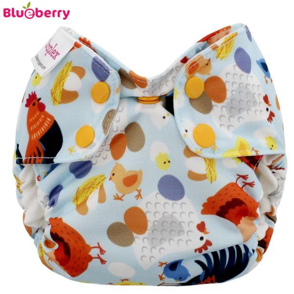 Blueberry Simplex Newborn (AIO) - Bio-Baumwolle GOTS - Chickadee