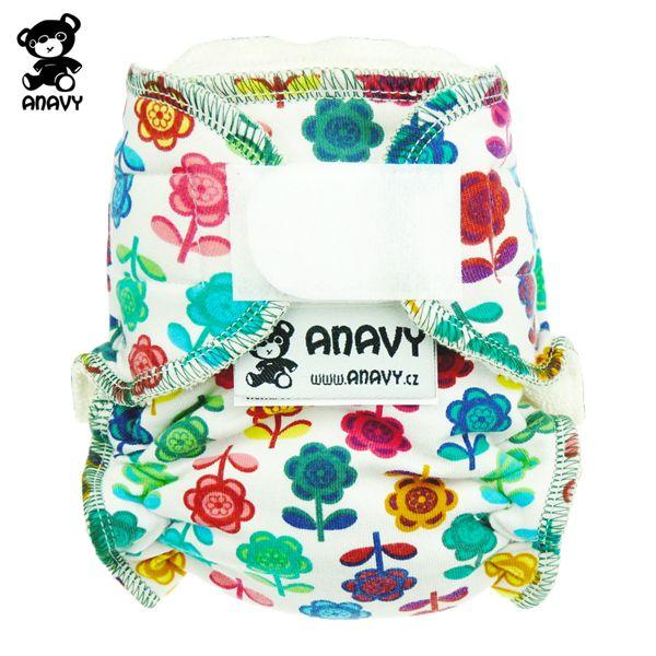 Anavy Höschenwindeln - Blumenwiese - Newborn (2-6 kg)