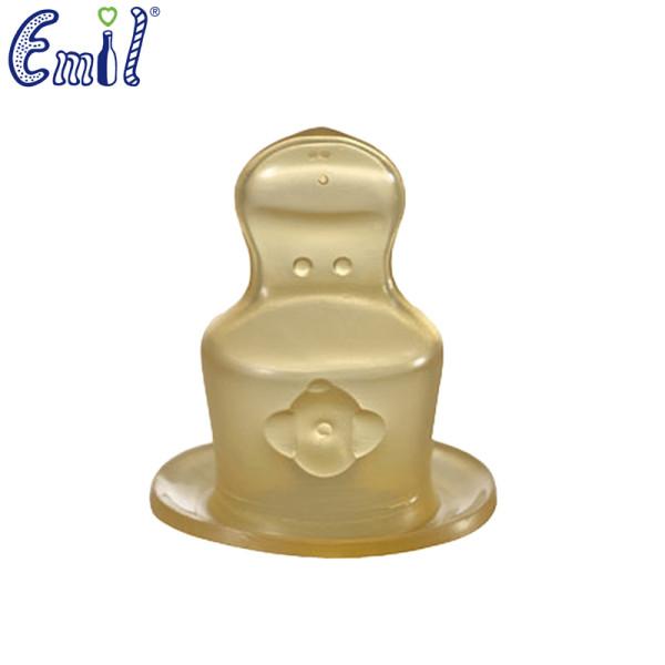 Emil die Babyflasche - Trinksauger (100% Latex Naturkautschuk) - 2 Stück