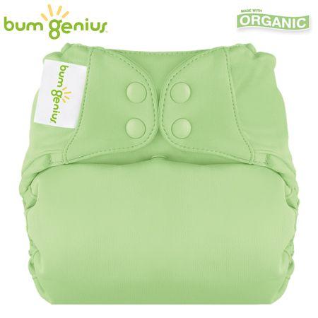 BumGenius Elemental V3.0 One Size (AIO) - Grasshopper (Grasgrün)
