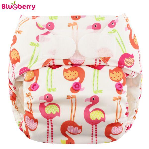 Blueberry - Simplex OneSize (AIO) - Bio-Baumwolle (GOTS) - Flamingo