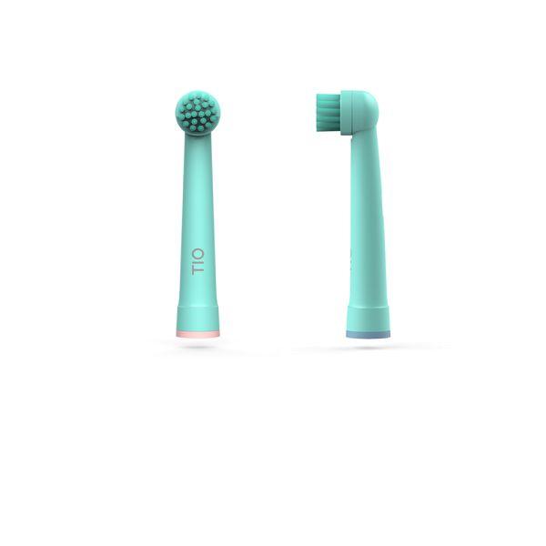 Tiomatik - nachhaltige Aufsteckköpfe für Oral-B elektrische Zahnbürsten (2 Stück)