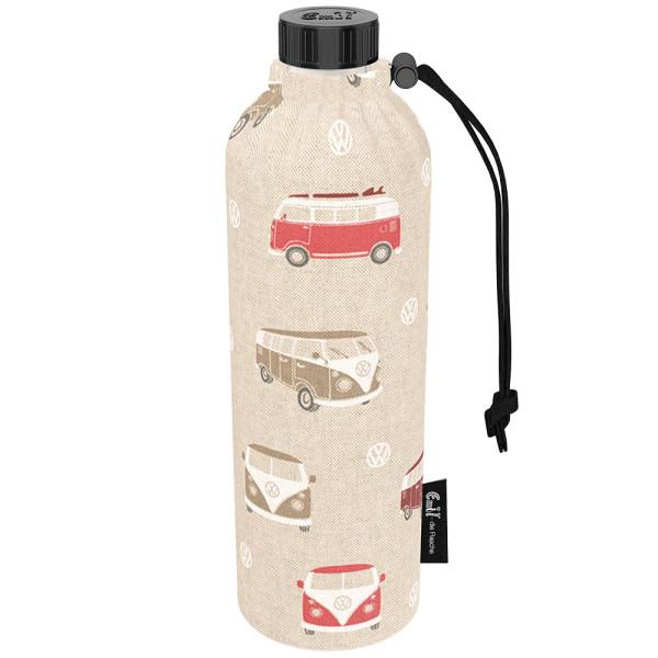 Emil die Flasche (750ml) - Komplettset (Baumwoll-Überzug) Weithals - Bullis