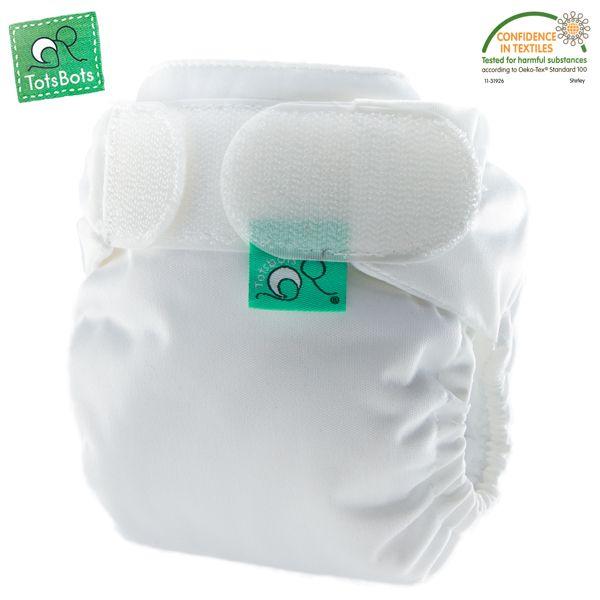 TotsBots - TeenyFit V5 Newborn (2-5 kg) - Weiß