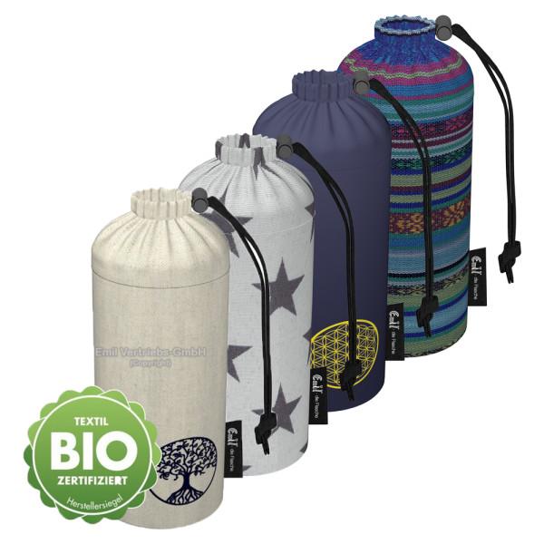 Emil die Flasche - Flaschenbeutel (einzelne Ersatzhülle) - 750ml (Bio-Baumwolle)