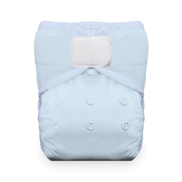 Thirsties Natural Pocketwindel One Size (4-18 kg) Ice Blue Klettverschluss