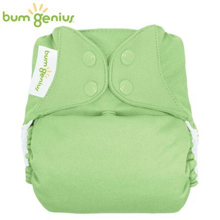 BumGenius V5.0 Pocketwindel One Size - Grasshopper (Grasgrün)