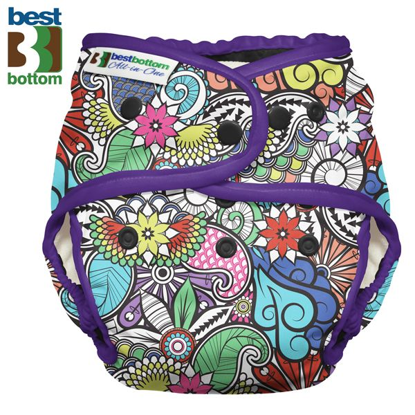 Best Bottom - Heavy Wetter AIO (One Size) - Oasis