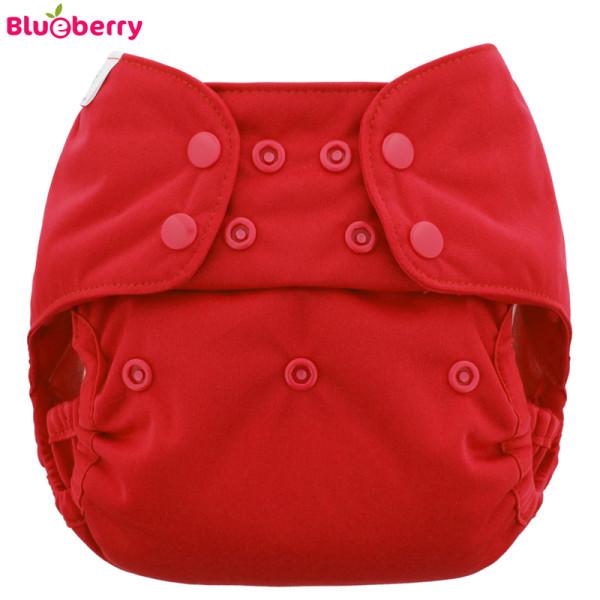 Blueberry - Capri 2.0 Überhose (Prefold) - Rot