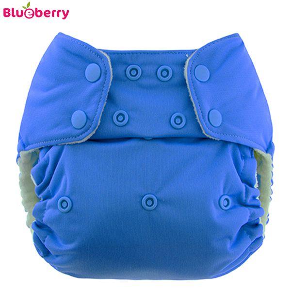 Blueberry - Simplex OneSize (AIO) - Bio-Baumwolle (GOTS) - Blau (Marina)
