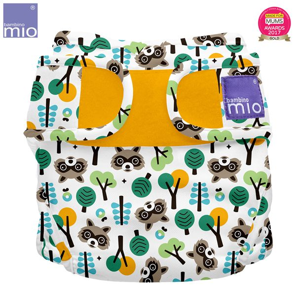 Bambino Mio - MioSoft Überhosen (Cover) - Raccoon Retreat