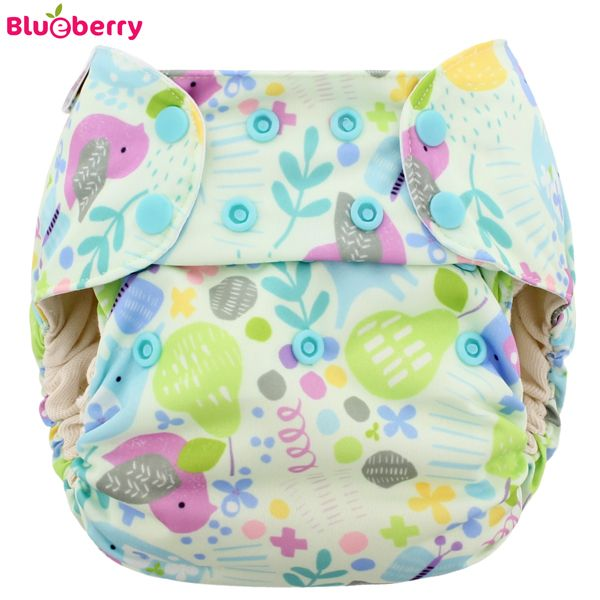 Blueberry Deluxe Pocket - Baby Birds (ohne Einlagen)