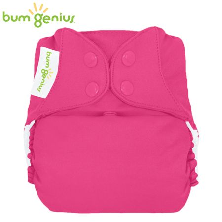BumGenius Freetime One Size (AIO) - Countess (Erdbeer)