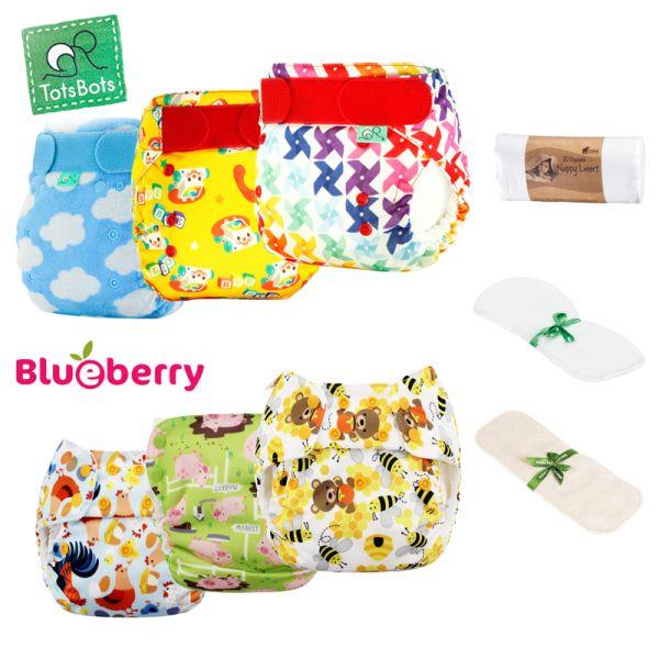 Blueberry & TotsBots - Mixed Paket (versch. Hersteller)