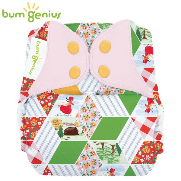 BumGenius Freetime One Size (AIO) - Patchwork