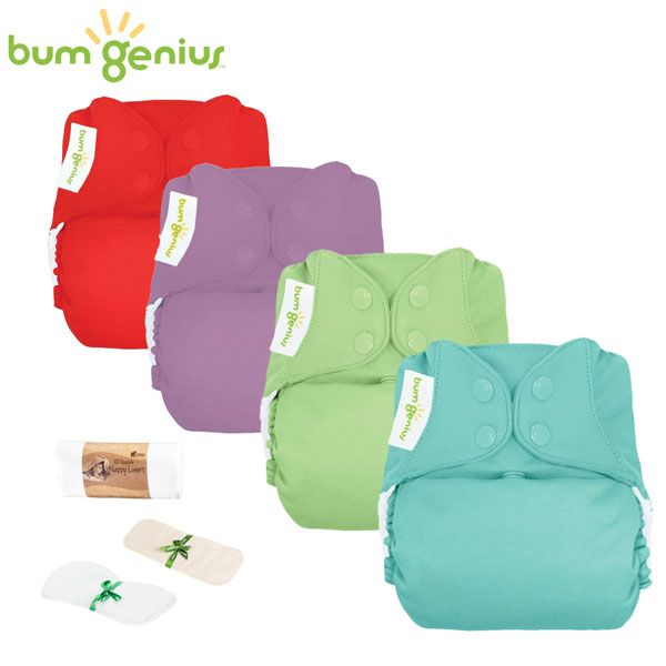 BumGenius Freetime One Size (AIO) - Einsteiger Paket -