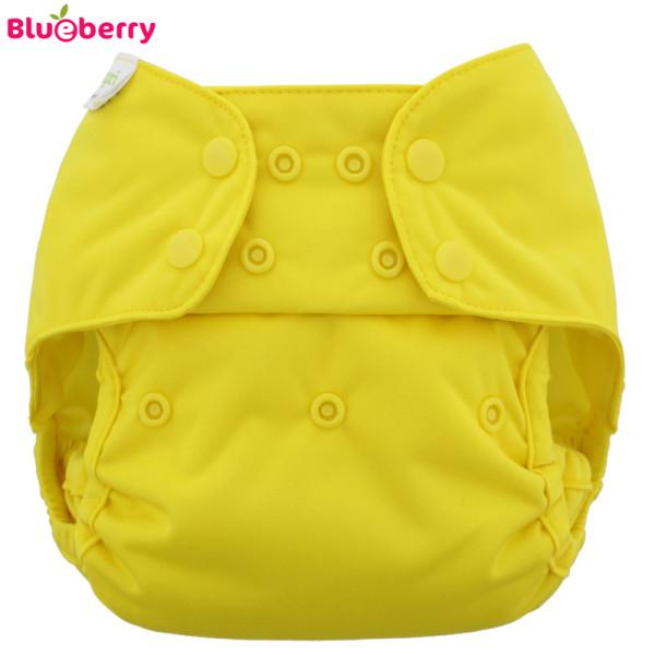 Blueberry - Capri 2.0 Überhose (Prefold) - Gelb (Lemon)