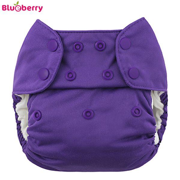 Blueberry - Simplex OneSize (AIO) - Bio-Baumwolle (GOTS) - Lila (Grape)