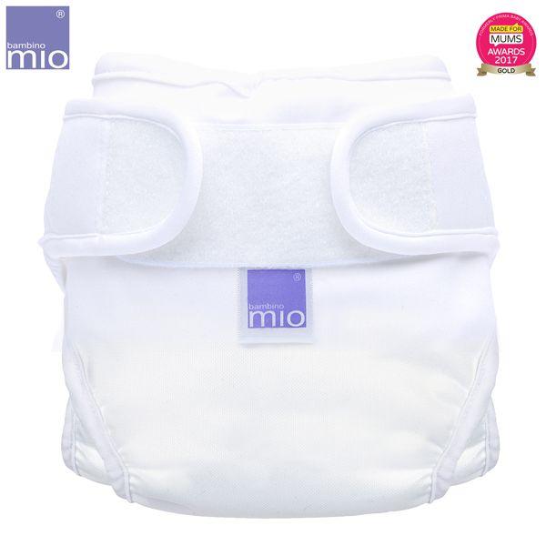 Bambino Mio - MioSoft Überhosen (Cover) - Weiß