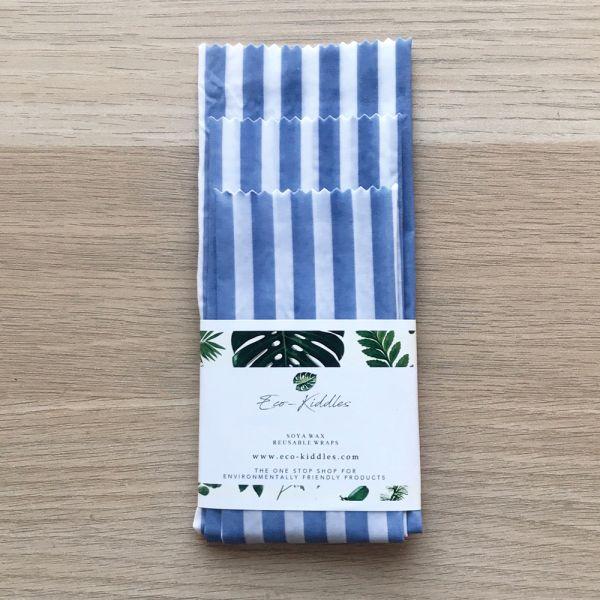 Eco-Kiddles - wiederverwendbare Soja-Wachstücher (100% natürlich & vegan) - 5 Stück