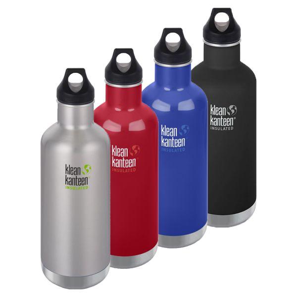 Klean Kanteen - Classic ISO-Flasche - Loop Cap (946ml)