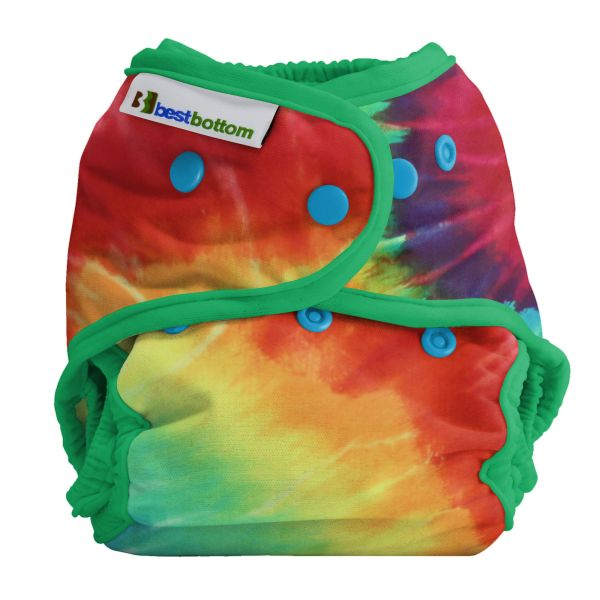 Best Bottom Diapers (PUL) Überhosen - BIGGER/XL (Druckies) - Regenbogen