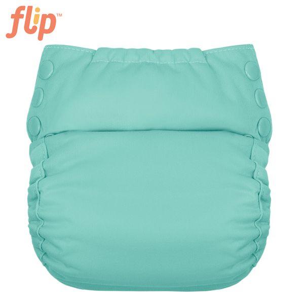 Flip Trainer One Size (Druckies) - Mirror / orangene Einsätze