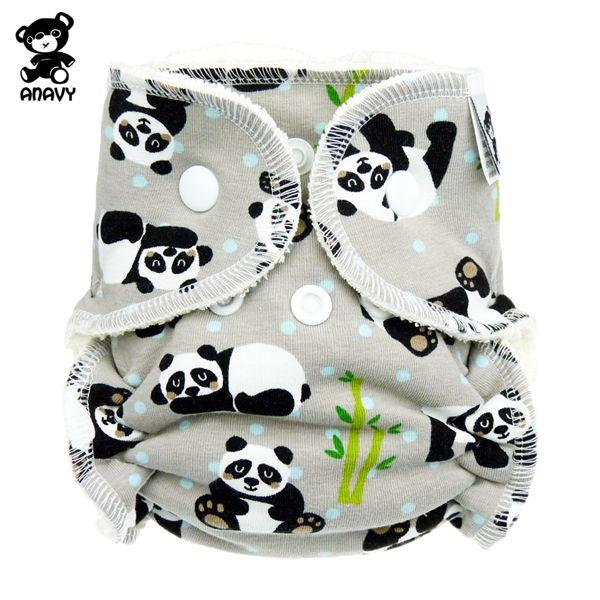 Anavy Höschenwindeln - Panda - Newborn (2-6 kg)