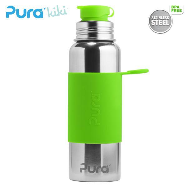 PuraSport™ Flasche - 800ml - BigMouth™ Aufsatz (inkl. Silikonüberzug)