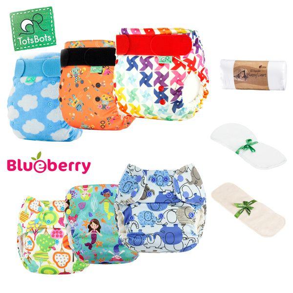 Blueberry / TotsBots - Mixed Paket -