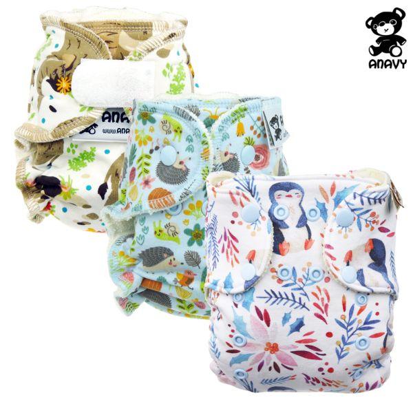 Anavy - Höschenwindeln - Spar Paket - Newborn (2-6 kg)