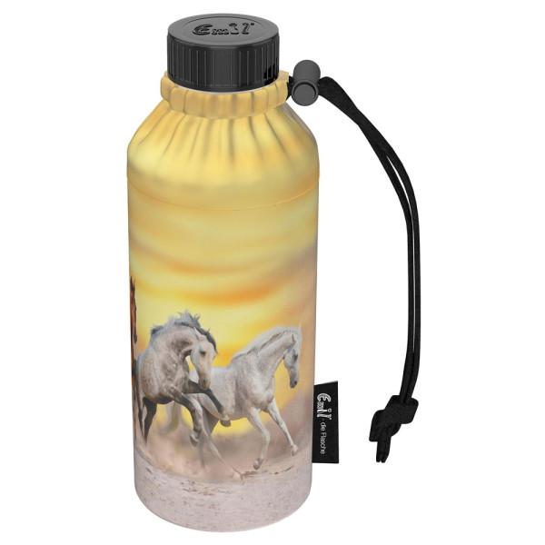 Emil die Flasche (400ml) - Komplettset Weithals - Wildpferde
