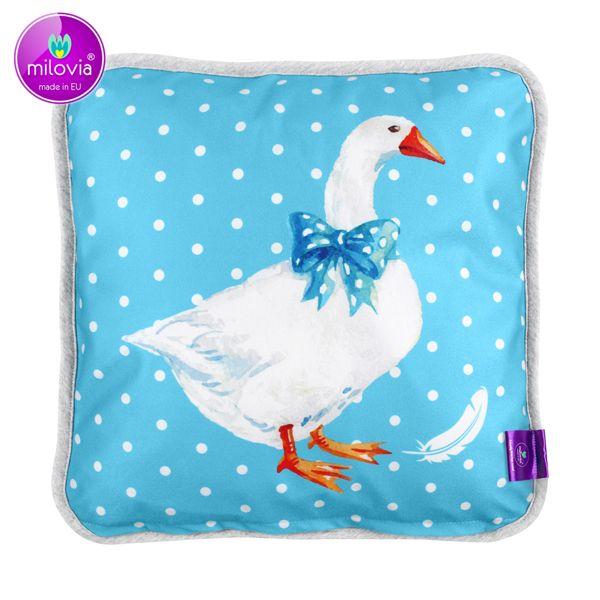 Milovia Milopiq® - Kids Kissen - Charming Goose (40x40 cm)