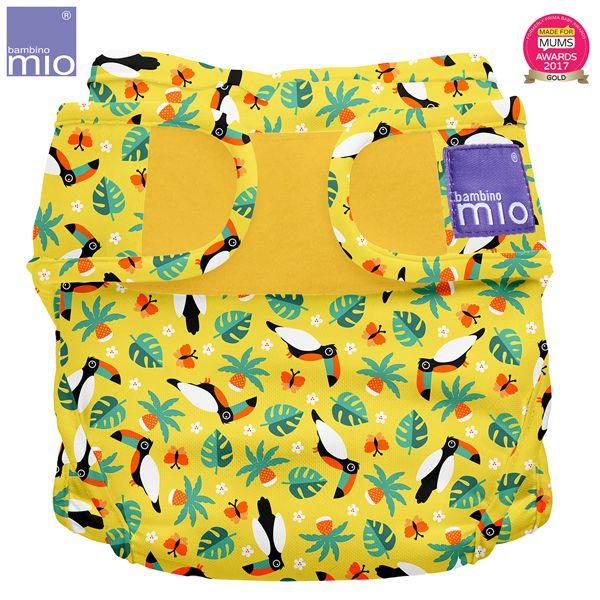 Bambino Mio - MioSoft Überhosen (Cover) - Tropical Toucan