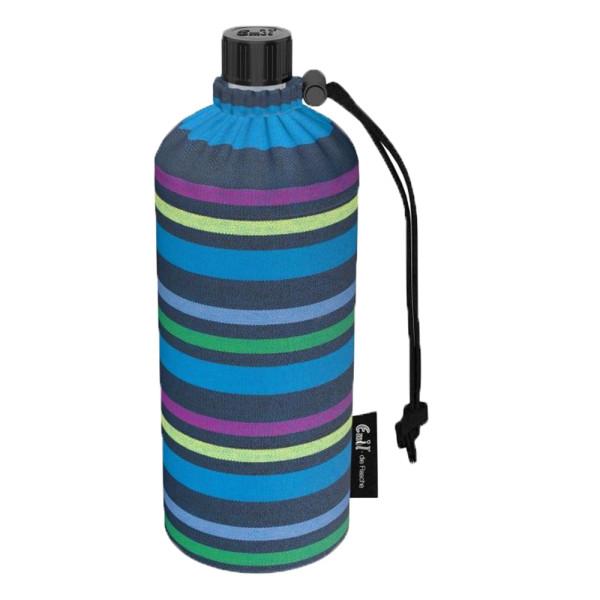 Emil die Flasche (300ml) Komplettset (Bio-Baumwolle-Überzug) Pastello