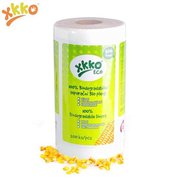 XKKO Windelvlies ECO - 100 % NatureWorks™ PLA (200 Blatt)