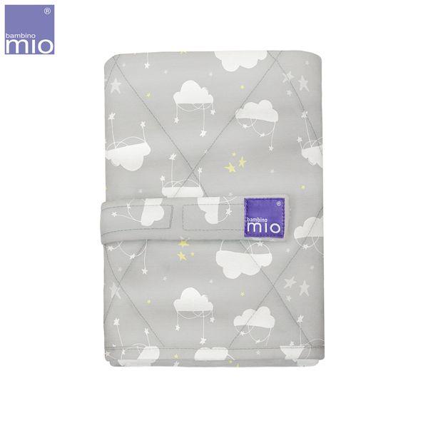 Bambino Mio - Neuankömmling Geschenk Set (Wickelunterlage & Mullwindeln & Klammern)