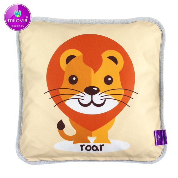 Milovia Milopiq® - Kids Kissen - Friendly Lion (40x40 cm)