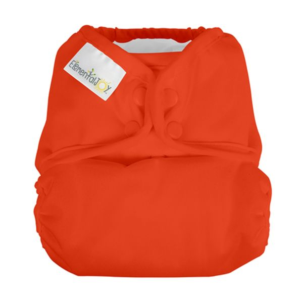 BumGenius Elemental JOY - Sassy (Orange) - Pocketwindel (ohne Einlagen)