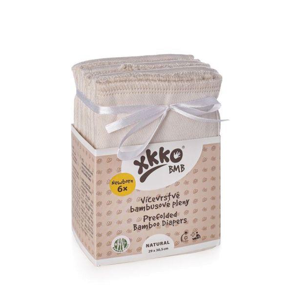 XKKO Prefolds - BMB (Bambus-Viskose) - Newborn