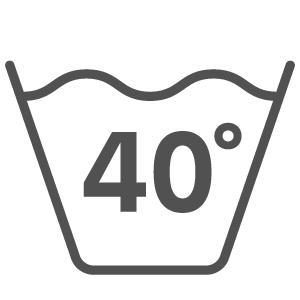 Waschinenwäsche bei 40 Grad