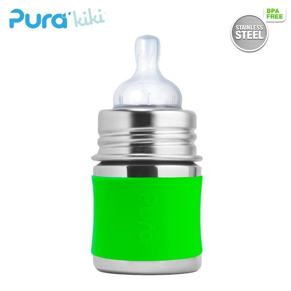 Pura Kiki Trinkflasche - 150ml - Weithalssauger (inkl. Schutzkappe)