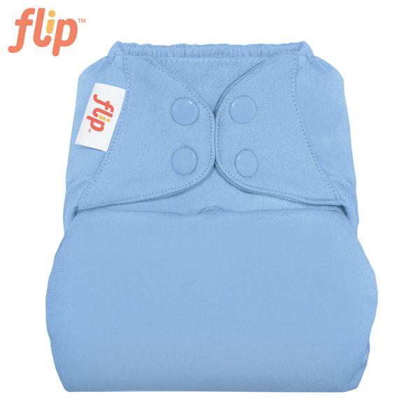 Flip Überhose One Size (Druckies) - Twilight (Hellblau)