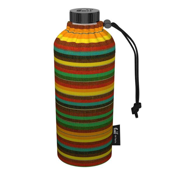 Emil die Flasche (400ml) - Komplettset (Bio-Baumwolle-Überzug) Weithals - Mexiko