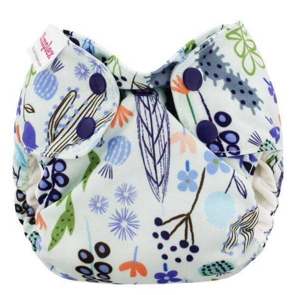 Blueberry Simplex Newborn (AIO) Bio-Baumwolle (GOTS) Sedona